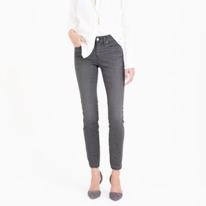 J. Crew Toothpick Skinny Mid-rise Ankle Jeans